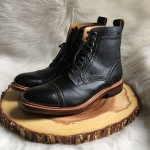 Stacy Adams leather boots LIKE NEW